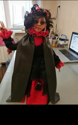Кукла -Чернокнижница
