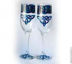 Пара кельтских бокалов
