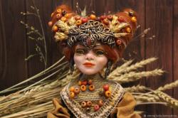 """Кукла-Хранитель """"Хозяйка Нового Урожая"""""""