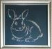"""Картина Swarovski """"Кролик"""""""