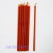 Свеча восковая оранжевая № 60 (1,5 часа)
