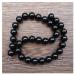 Чёрный оникс, бусины 12 мм.