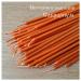 Свеча восковая оранжевая (40минут)