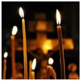 Освящённые свечи